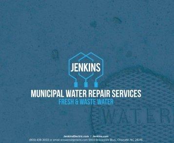 Jenkins Municipal Water Services Data Sheet
