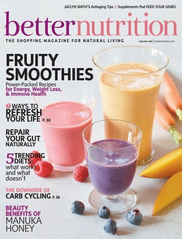 Better Nutrition Magazine January 2019