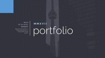 Portfolio 2017 - Harkaranvir Singh