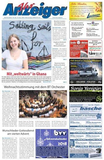 Ihr Anzeiger Bad Bramstedt 50 2018