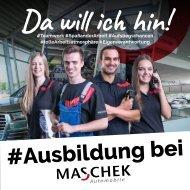 Azubibroschüre Maschek Automobile