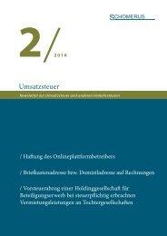 Umsatzsteuer 2/18