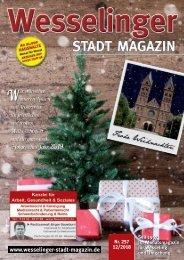 Wesselinger Stadt Magazin Dezember 2018