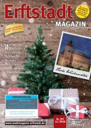 Erftstadt Magazin Dezember 2018