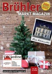 Brühler Markt Magazin Dezember 2018