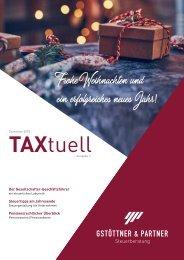 TAXtuell - Ausgabe 6 - Dezember 2018