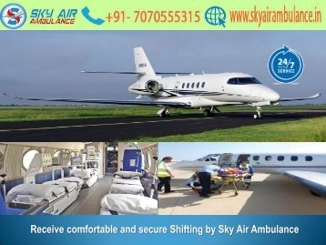 Avail Low-Cost ICU Air Ambulance Service in Jaipur by Sky