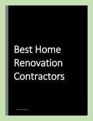 Best home renovation contractors calgary