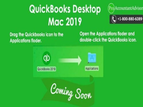 QuickBooks Desktop Mac 2019 is Coming Soon – Things to Know