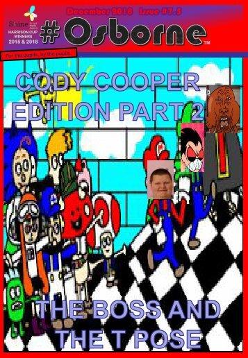 #Osborne Issue #7 - CODY EDITION PT2