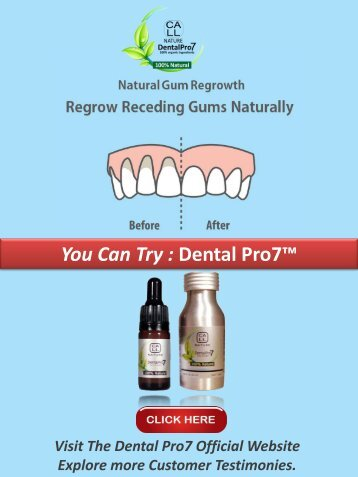 How to Grow back Gums Naturally