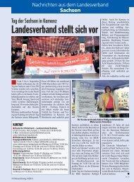 Sachsen - Deutscher Mieterbund