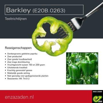 Teeltrichtlijnen E20B.0263