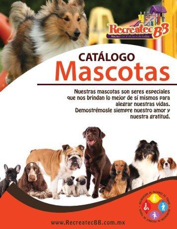 Catalogo Mascotas Recreatec BB