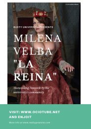 Milena Velba La reina