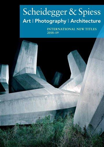 Scheidegger & Spiess International New Titles 2018-19