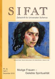 SIFAT - Zeitschrift für Universalen Sufismus - 2018 Heft 3 - Dezember (Leseprobe)