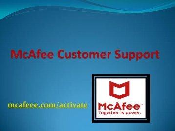 mcafee.com/activate - www.mcafee.com/activate