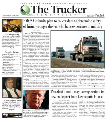The Trucker Newspaper - December 15, 2018