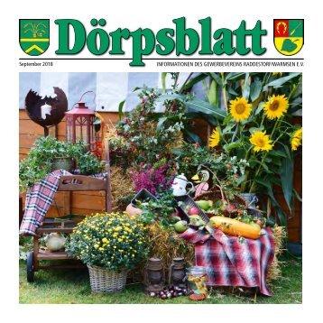 Doerpsblatt September 2018