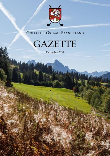 Gazette 2018 Issuu Test mit Spalten
