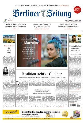 Berliner Zeitung 14.12.2018