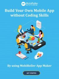 Build Your Own Mobile App without coding skills