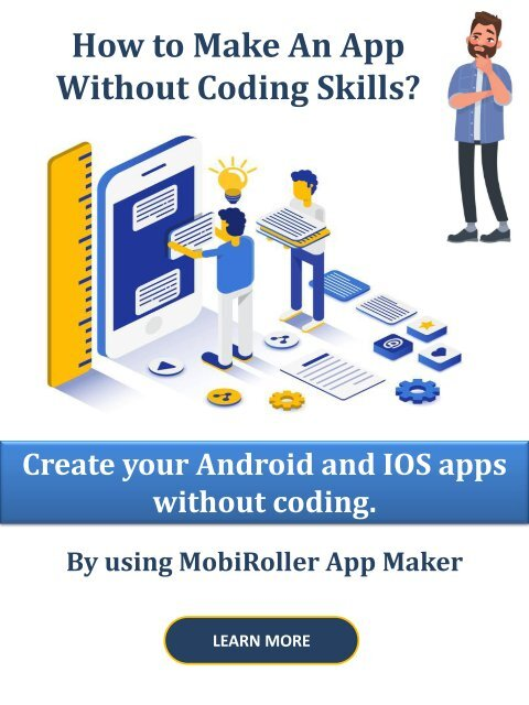 Create An App Without Coding Skills