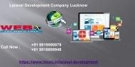 Laravel Development Company Lucknow| Website And Application Service