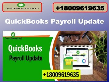 18009619635 QuickBooks Payroll Support Phone Number USA