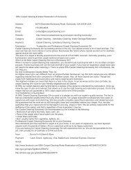 SRU Carpet Cleaning & Water Restoration of Dunwoody