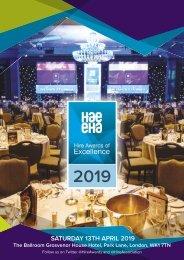 HAE Awards 2019