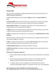 Global Real Estate company profile