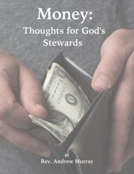 Money: Thoughts for God's Stewards by Andrew Murray