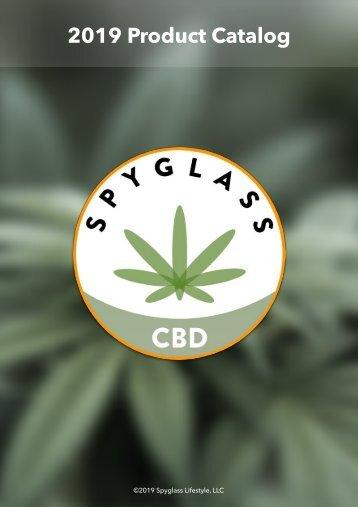 Spyglass CBD Product Catalog 2019