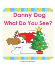 Danny Dog, What do you see? Snowman Story