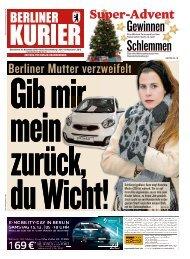 Berliner Kurier 15.12.2018