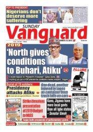 16122018 - 2019: North gives conditions to Buhari, Atiku