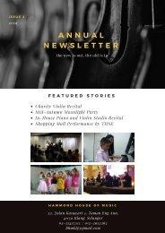 2019 Hammond Annual Newsletter