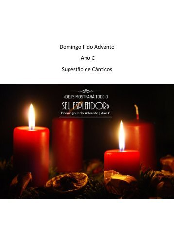 Domingo II do Advento - Ano C