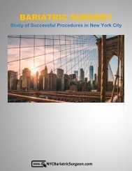 Bariatric Obesity Surgery - Study of Successful Procedures in New York City
