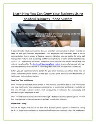 Small Business Phone System   Voip Phone System for Small Business