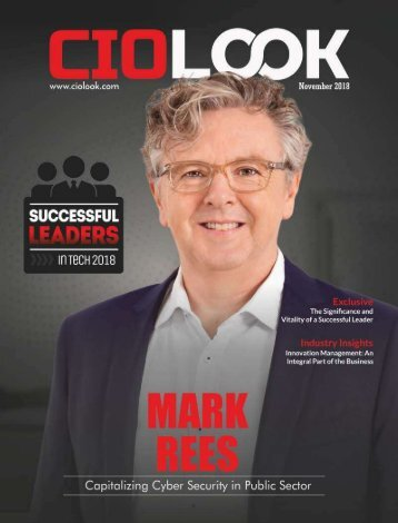 Successful Leaders in Tech 2018 - CIO Look Magazine