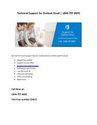 Technical Support for Outlook Email | 1844-797-8692