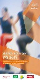 Aalen-Sportiv Frühjahr & Sommer 2019