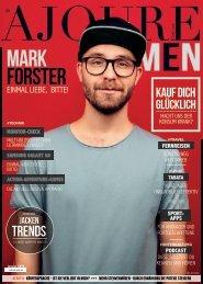 AJOURE´ Men Magazin Januar 2019