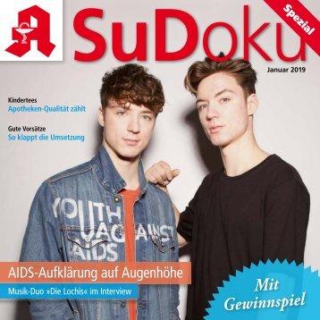 "Leseprobe ""Sudoku-spezial"" Januar 2019"