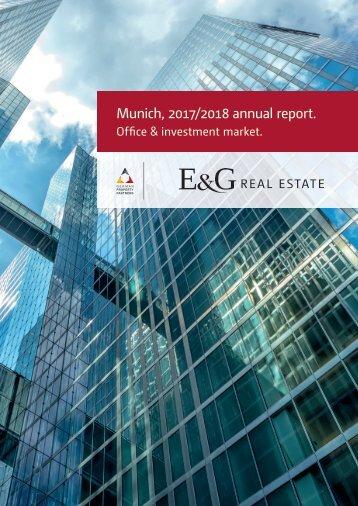 E & G Office Market Report Munich 2017-2018