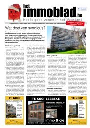 Het Immoblad dd 18 december 2018
