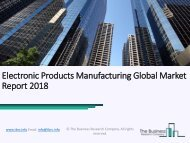 Electronic Products Manufacturing Global Market Report